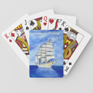 Hohes Schiffs-Spielkarten Spielkarten