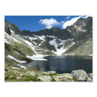 Hohes Tatras Slowakei Foto-Papier (Satin) Fotodruck