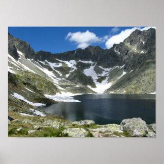 Hohes Tatras Slowakei Wert-Plakat-Papier (Matt) Poster