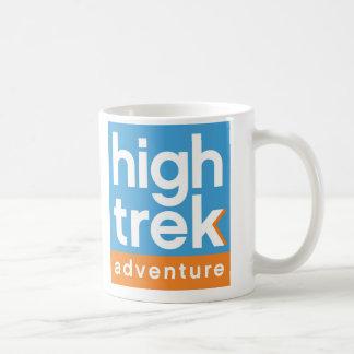 Hohes Wanderungs-Abenteuer-Logo Tasse