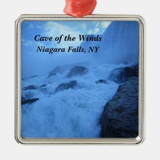 Höhle der Winde, Niagara Falls, NY Silbernes Ornament