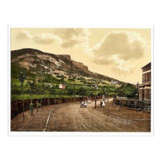 Höhlen-Hügel. Belfast. Co. Antrim, Irland seltenes Postkarte
