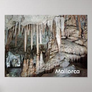 höhlen von Mallorca, Plakat, Poster