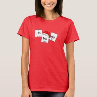 HoHoHo Holmium-Chemie-Element-Weihnachtswortspiel T-Shirt