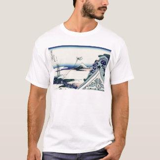 Hokusai Asakusa Hongan-ji Tempel T-Shirt