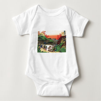 Hokusai - japanische Kunst - Japan Baby Strampler