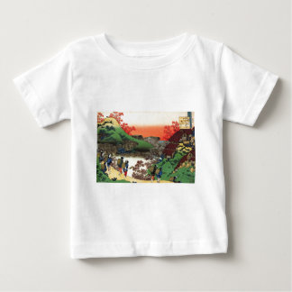 Hokusai - japanische Kunst - Japan Baby T-shirt