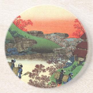 Hokusai - japanische Kunst - Japan Sandstein Untersetzer