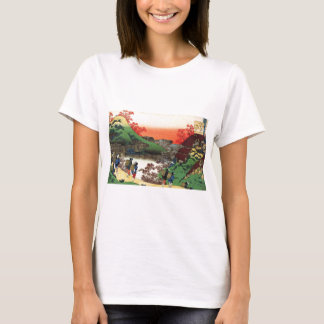 Hokusai - japanische Kunst - Japan T-Shirt