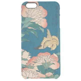 Hokusai Pfingstrosen und zitronengelbes Vintages Durchsichtige iPhone 6 Plus Hülle