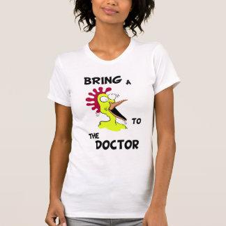 Holen Sie dem Doktor Shirt ein Huhn