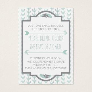 Holen Sie eine Buch-Karte, Azteken, Pfeile, Visitenkarte