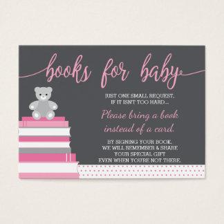 Holen Sie eine Buch-Karte, Teddybären, Bücher, Visitenkarte