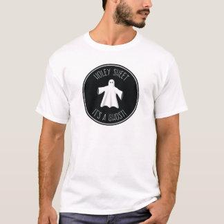 Holey Blatt ist es ein Geist - weißer Halloween-T T-Shirt