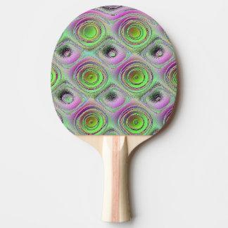 Holey Klingeln Pong Paddel Tischtennis Schläger