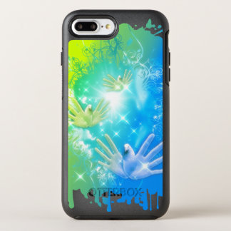 holiES - Fliegen übergibt Tauben KUNST OtterBox Symmetry iPhone 8 Plus/7 Plus Hülle