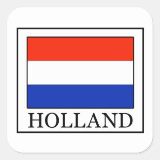 Holland-Aufkleber Quadratischer Aufkleber