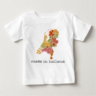 Holland-Provinz-Karten-böhmische Patchwork-Art Baby T-shirt