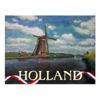 Holland-Windmühlen-Postkarte Postkarte