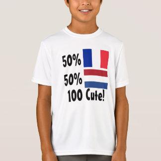 Holländer 100% 50% Franzose-50% niedlich T-Shirt