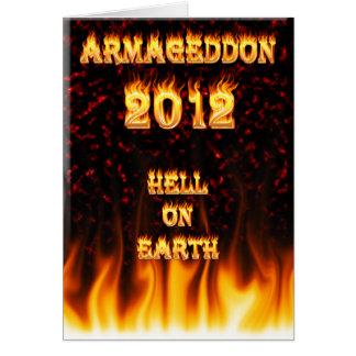 Hölle auf Erdenenfeuer und -flammen Karte