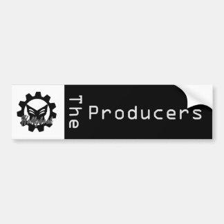 Hollyhock: Der Produzent-Autoaufkleber Autoaufkleber