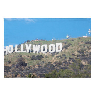 Hollywood Hills Stofftischset
