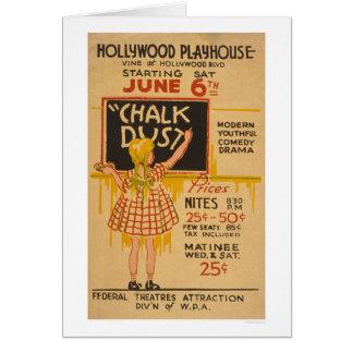 Hollywood-Jugend-Komödie WPA 1936 Karte