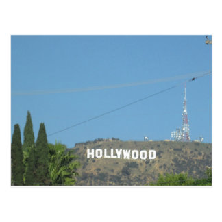 Hollywood Postkarte