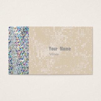 Hologramm-Paillette Visitenkarten