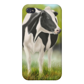 Holstein-Milch-Kuh iPhone 4/4S Hülle