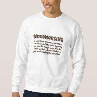 Holzbearbeitungs-Shirt Sweatshirt