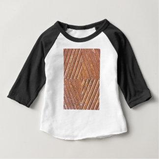 Hölzerne Beschaffenheit Baby T-shirt