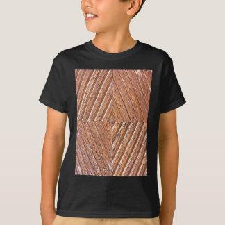 Hölzerne Beschaffenheit T-Shirt