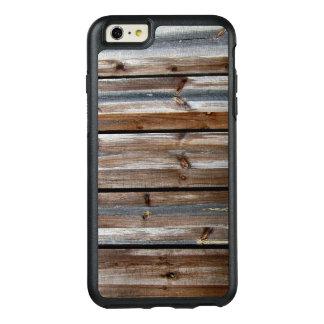 Hölzerne Beschaffenheits-cooles einzigartiges OtterBox iPhone 6/6s Plus Hülle