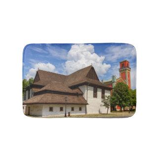 Hölzerne Gelenkkirche in Kezmarok, Slowakei Badematte