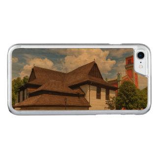 Hölzerne Gelenkkirche in Kezmarok, Slowakei Carved iPhone 7 Hülle