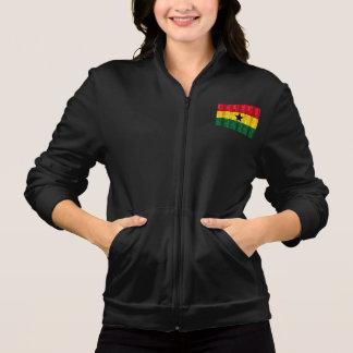 Hölzerne ghanaische Flagge