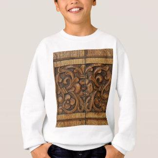 hölzerne Platte Sweatshirt