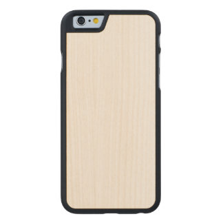 Hölzerner dünner iPhone 6/6s Fall Carved® iPhone 6 Hülle Ahorn