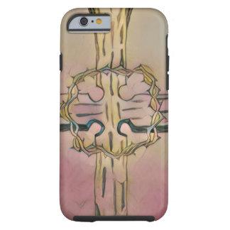 Hölzerner Fall des Kreuz-iPhone6 Tough iPhone 6 Hülle