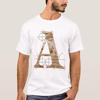 Hölzerner Grunge-T - Shirt