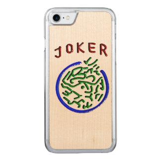 Hölzerner Korn-Joker-Telefon-Kasten Carved iPhone 8/7 Hülle