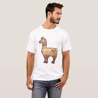 Hölzerner Lama-T - Shirt