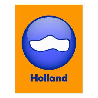 Hölzerner Schuh Hollands Postkarte