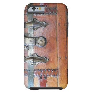 Hölzerner Stamm-Kasten mit Klinken Tough iPhone 6 Hülle