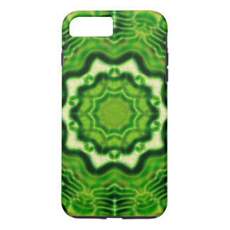 HÖLZERNES Element kaleido Muster iPhone 8 Plus/7 Plus Hülle
