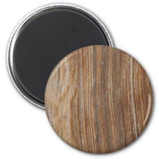 Hölzernes Korn Runder Magnet 5,7 Cm