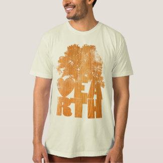 Hölzernes Korn T-Shirt