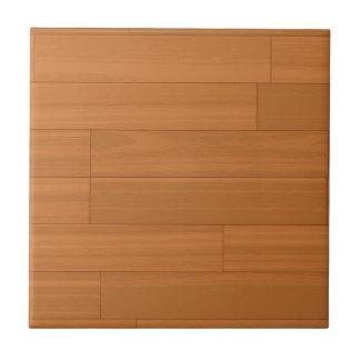 Hölzernes Parkettboden-Muster Kleine Quadratische Fliese